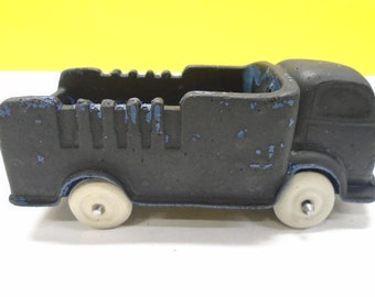 AUBURN RUBBER TOY  Collectibile Cab-Over Truck From The Fabulous 1950's