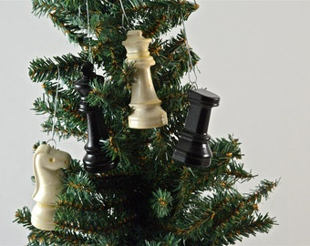 Chess Ornaments, Chess Lovers, Chess Players Ornaments