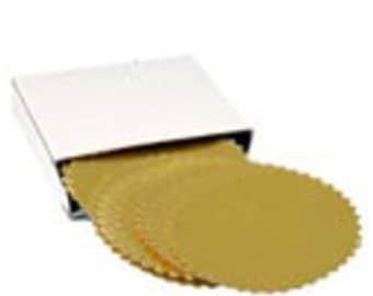 3 Boxes (40 per box) Gold Foil Self Adhesive Embossing Labels