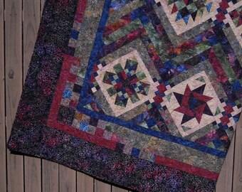 Modern Quilt Custom Made Handmade King Size Queen Size Double : quilt handmade - Adamdwight.com