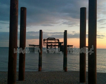 Original Brighton pier photography 8x10 inches incl mount