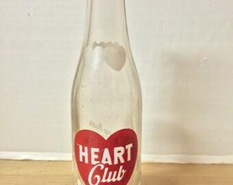 Heart Club Beverages Bottle