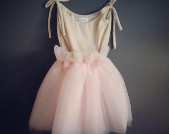 Pink Peony Tutu Dress