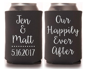 Wedding Can Drink Holders FREE SHIPPING!