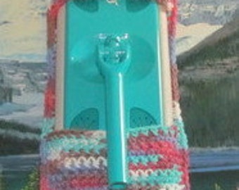 0407 Hand crochet swiffer mop cover