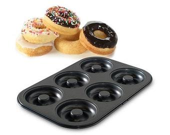 Professional Donut Pan/ Doughnut Baking Pan/ Donut Baking Pan/ Make Home Made Donuts/ Homemade Donuts
