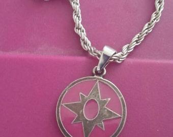 Indigo Lantern Corps necklace