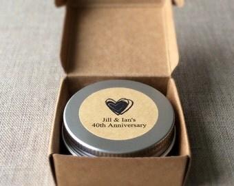 12 Heart Body Butter Favors, body butter set, personalized favors, bridal shower favors, Heart favors, wedding favors