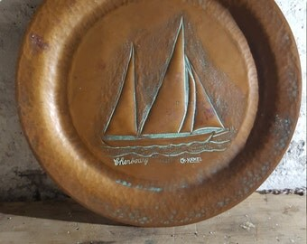 French Copper Plate / Cherbourg