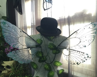 Dragonfly Wings (shape one) - Choose Your Own Colour Tips! - Made to Order