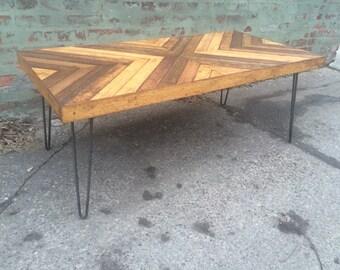 X design coffee table