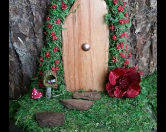 PoppyTart Faerie Door