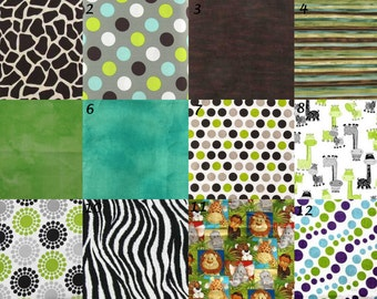 Jungle Burp Cloths - set of 3