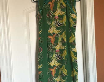Avanti Authentic Hawaii Silk Dress