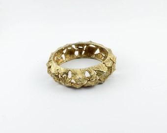 Lanvin Gold-Tone Bracelet - 1970s