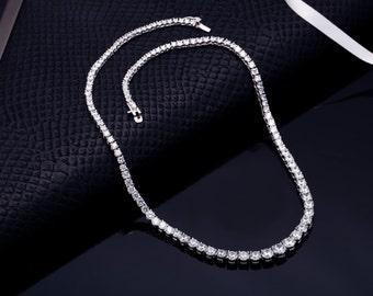 Bridal Necklace, Wedding Necklace, Bridal Jewelry, Wedding Necklace Set, CZ Necklace, Crystal Earrings, Statement Necklace, Bridal Jewelry
