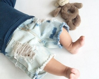3-6m Baby Boy + Baby Girl Shorts