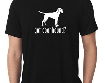 Got Coonhound T-Shirt coon hound T422