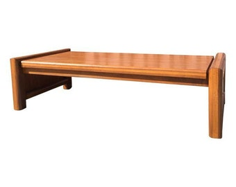 Sculptural Mid Century Coffee Table