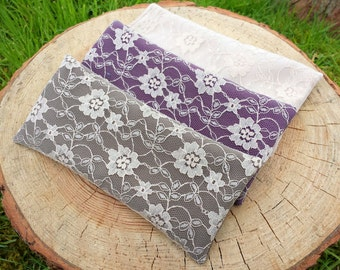 lace lavender eye pillow relaxation yoga meditation savasana