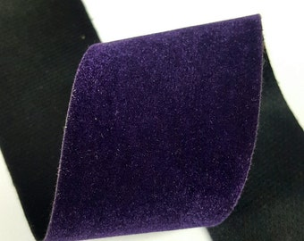 "2"" Inch Velvet Ribbon Polyester Ribbon,  5-Yard"