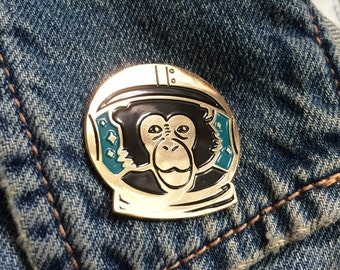 Space Monkey Lapel Pin!