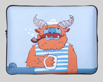MONSTER! laptop case by Designvonal