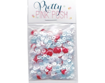 xoxo Sequin Mix by Right at Home & Pretty Pink Posh