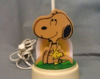 Snoopy Lamp Peanuts Characters 1958, 1965
