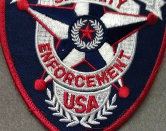 City Rangers Security Enforcement USA Patch