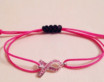 Bracelet Breast Cancer One Jewel Rosa&Pink