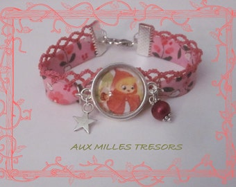 Bracelet the little red riding hood
