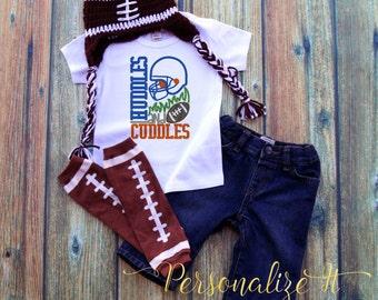 Toddler Football Shirts, Boy Football Shirts, Football Shirts, Kid Football Shirts, Children Football Shirts, Huddles and Cuddles, Football