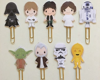 Star Wars Double Sided Planner Clip - Made to Order