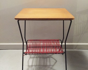 Low retro side table