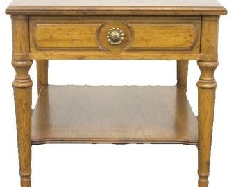 DREXEL HERITAGE Spanish Revival Southwestern Lamp / End Table 365-200