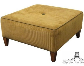 ETHAN ALLEN 36″ Square Upholstered Ottoman