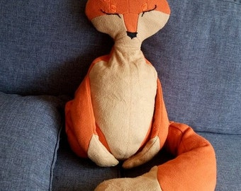 Fox handmade stuffed toy