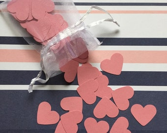 Pink Heart Confetti x200 Pieces - IDEAL for VALENTINES DAY