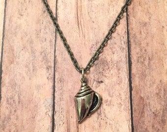 SALE - Triton Seashell Necklace
