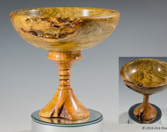 Elevated Burl Bowl