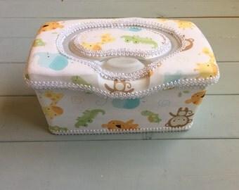 Jungle Babies, Wipe Case, Wipes Case, Baby Wipe Case, Wipes Holder, Baby Wipes Case, Wipes Container, Wet Wipe Case, Baby Gift, Babyshower