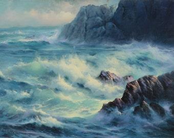 """Asilomar - 24"""" x 36"""" Oil on Canvas"""