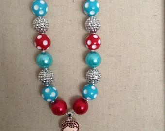 Dorthy Bubblegum Necklace