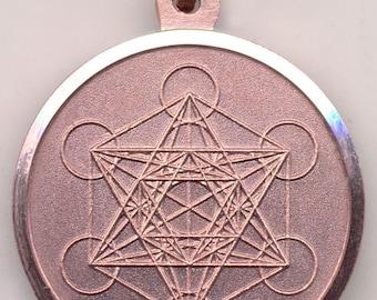 Seal Metatron's Cube - Sigillo Cubo di Metatron - Sacred Geometry