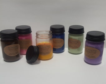 Case of All Natural 12 oz Soy Candles