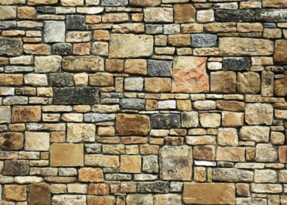 5 feuilles gaufr es papier mur de pierre bossel e 21cm x29cm. Black Bedroom Furniture Sets. Home Design Ideas