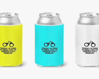 Awesome custom Can Coolers for 12oz cans made with what you want