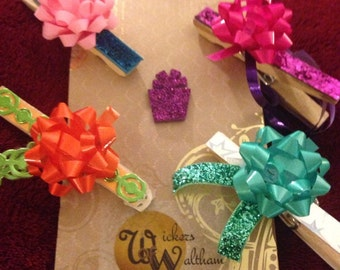 Clothespins Gift Tag Assortment