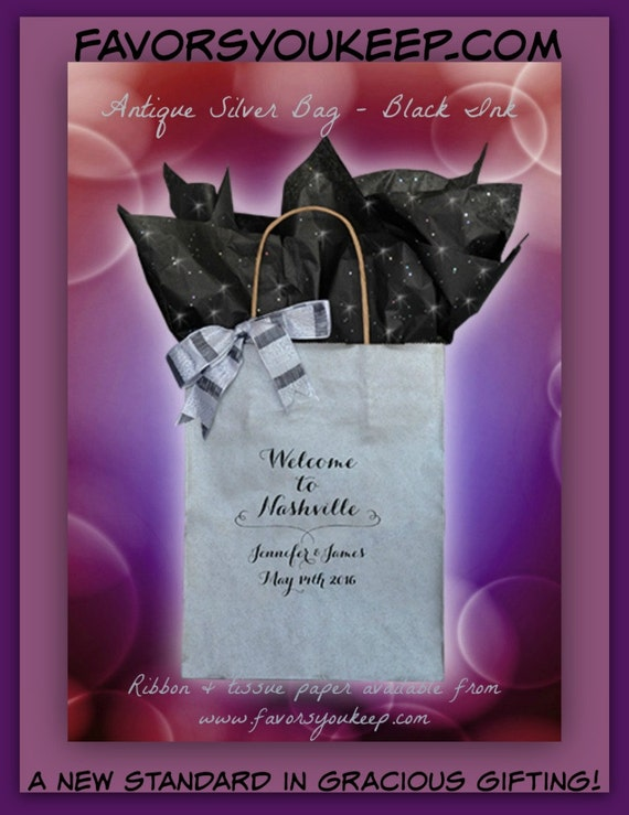 Unique Wedding Welcome Gifts : 25+ Wedding Welcome Bags Personalized Wedding Guest Gift Bag Welcome ...